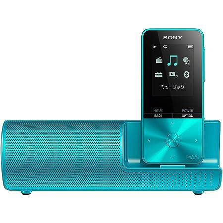 ソニー ウォークマン Sシリーズ 16GB NW-S315K : MP3プレーヤー Bluetooth対応 最大52時間連続再生 イヤホン/スピーカー付属 2017年モデル ブルー NW-S315K L