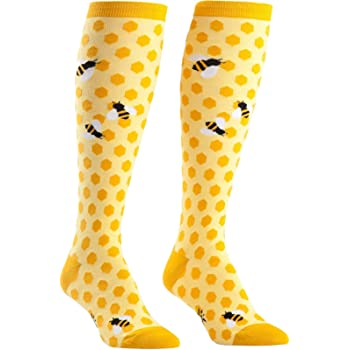 Sock It To Me, Knee High Funky Socks: Bugs and Insects
