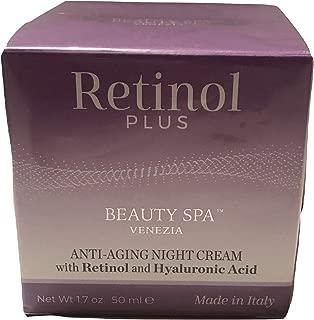 Retinol Plus Venezia Anti-Aging Night Cream From Italy, 1.7 oz