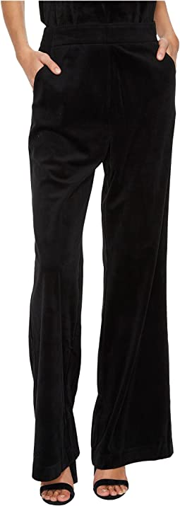 Bishop + Young - Velvet Wide Leg Pants