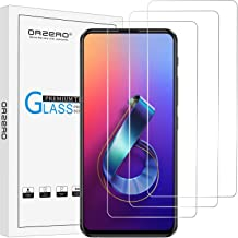 (3 Pack) Orzero Compatible for ASUS ZenFone 6 2019 (ZS630KL) Tempered Glass Screen Protector, 2.5D Arc Edges 9 Hardness HD...