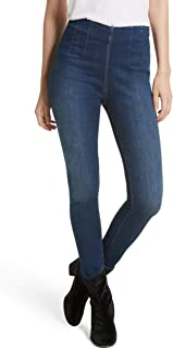 Free People Women's High Waist Denim Leggings