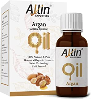 Allin Exporters Argan Oil Cold Pressed Moroccan Oil For Skin And Hair 15 Ml