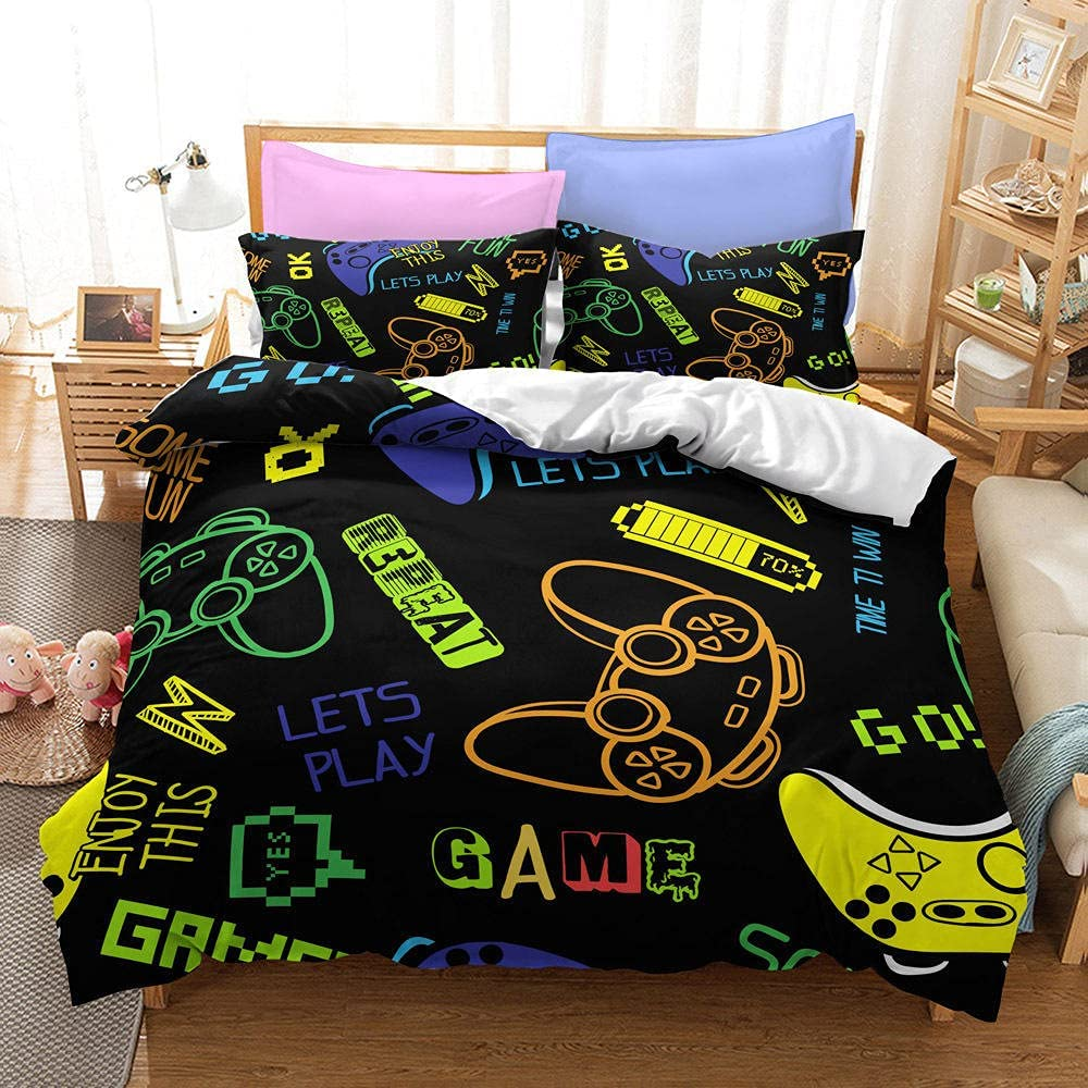 Bedding - kit Max 74% OFF Cheap bargain Game Machine Handle Series Sets I Three of