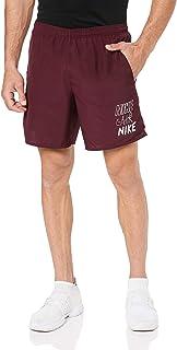 Nike Men's CHLLGR 7IN BF GX Shorts, White (Night Maroon/white ), Medium-NKAT7649