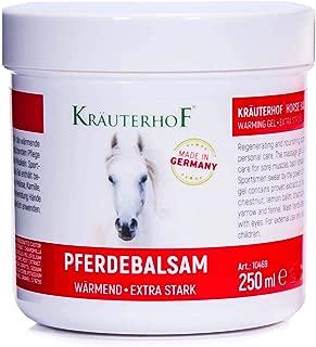 Winter-Warming Gel (Strong Effect) With Hops, Yarrow, Mistletoe, Lemon Balm, Vines Leaves, Horse Chestnut - 250 ml by Krauterhof