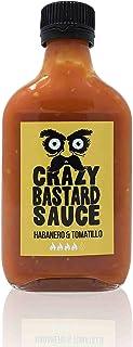 Crazy B. Sauce - Habanero & Tomatillo 200ml Scharf und fruchtig Chili sauce mit Habanero