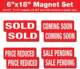 magnetic real estate signs