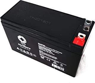 SPS Brand 12V 9Ah Terminal FP Replacement Battery for Clore Automotive JNC300XL 900 Peak-Amp Ultra-Portable with Flashlight Jumpstarter