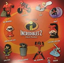 McDonald's 2018 INCREDIBLES 2 - COMPLETE SET OF 10