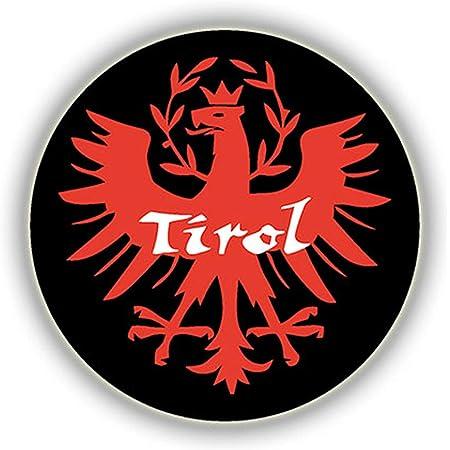 Tiroler Adler Auto Aufkleber Tirol Autoaufkleber Sticker Wappen Rot Auto