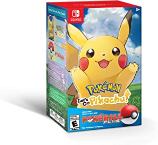 Pokémon: Let's Go, Pikachu! + Poké Ball Plus Pack