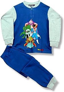 Toei Animation Dragon Ball Z Fuerzas Bobbidi-Pijama Conjunto Invierno Niña Niño Manga Larga-Villanos Bola Dragon