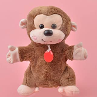 Plush toys, Little Monkey hand puppet Learning plush toy, Stuffed Baby/Kids Develop Doll Toy Gift, plush toys for kids Not...