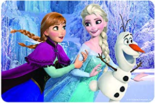 NEILDEN Disney Frozen Puzzles in a Metal Box 60 Piece Jigsaw Puzzle for Kids Ages 4-8 for Children Learning Educational Puzzles Toys (Snowman)
