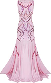 Best mermaid pink prom dresses Reviews
