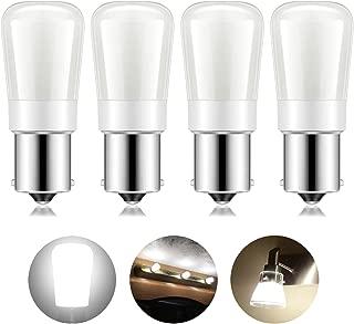 Kohree 12 Volt RV Led Light Bulbs 1156 Vanity Light Bulb Replacement 20-99/1141/BA15S LED Bulb 12V or 24V LED Bulb for RV Camper Trailer Motorhome 5th Wheel and Marine Boat Pack of 4(Natural White)