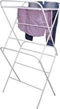 Magna Homewares Stella Heavy Duty Steel Royal White Cloth Drying Stand
