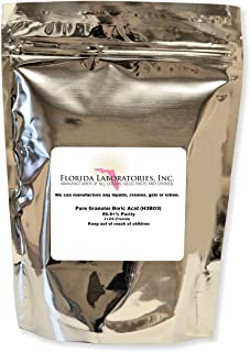 Florida Laboratories Boric Acid Granular Powder 2 Lb. Create Your own Solution