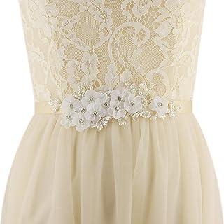 Azaleas Women's Floral Wedding Belt Sashes Bridal Sash Belt for Wedding
