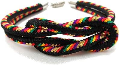 8colors Japanese Kumihimo Kimono Braid Bracelet with Magnetic Clasp Handmade in Japan