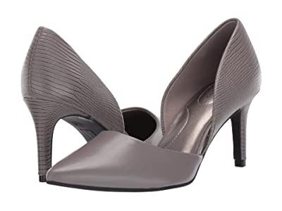 Bandolino Grenow Heel (Grey Smooth/Lizard) High Heels