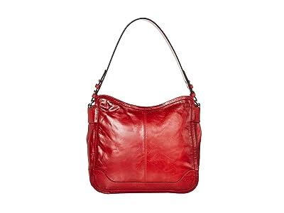 Frye Mel Hobo (Red) Handbags