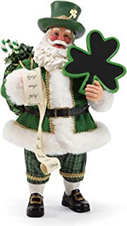 Department 56 Possible Dreams Santa Celtic Holiday Irish Cheer Figurine, 11 Inch, Multicolor