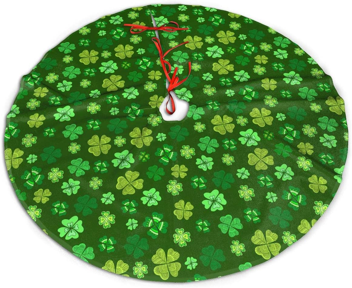 MJINSJIA-TS Max 60% OFF St. Patrick's Day Four-Leaf Sk Clover Christmas Max 49% OFF Tree