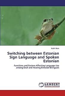 Best estonian sign language Reviews