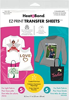 HeatnBond Transfer Sheet, 3369, N/a, 8.5-Inch x 11-Inch 10/Pkg