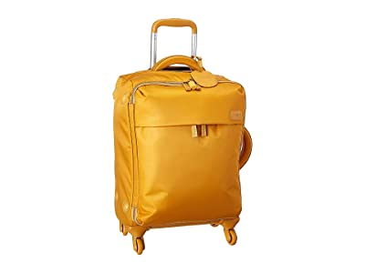Lipault Paris Original Plume Spinner 55/20 Carry-On (Mustard) Carry on Luggage