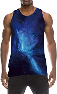 bd23e905c47a7 TUONROAD Mens 3D Graphic Printed Tank Top Cool Muscle Sleeveless Tees Gym  Workout Shirt