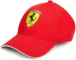 Ferrari Red Rookies Young Kids Classic Hat Cap w/Scuderia Ferrari Logo Badge