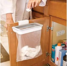 EKRON Hanging Trash Bag Holder for Garbage in Kitchen/Attach A Trash Portable Waste Holder Trash Bin