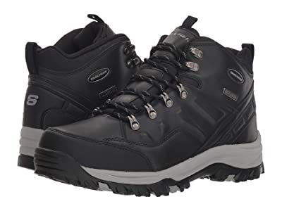 SKECHERS Relaxed Fit Resment Traven (Black) Men