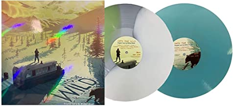 Into The Wild Score - Exclusive Limited Edition Magic Bus Tri Color Split & Ice Blue Colored 2x Vinyl LP