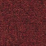 Teppichboden Auslegware   Schlinge gemustert   400 und 500 cm Breite   rot   Meterware, verschiedene Größen   Größe: 3,5 x 4m