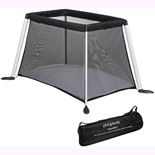 Phil & Teds TR_V4_5 Traveller V4 Cot/Crib - Black