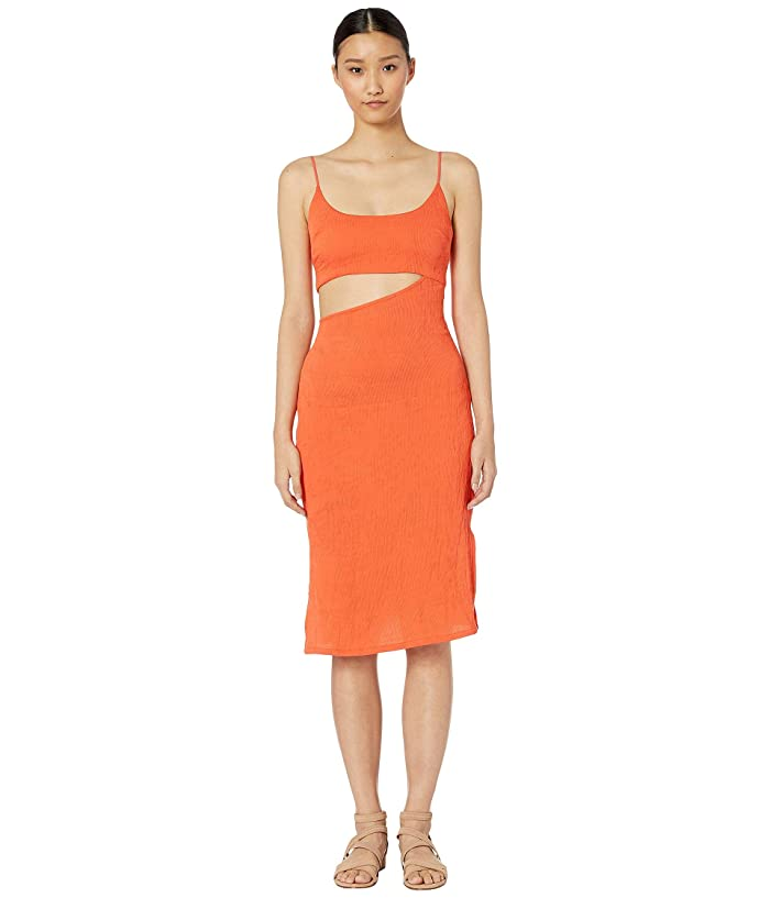 FLAGPOLE Bondi Dress (Papaya) Women's Dress