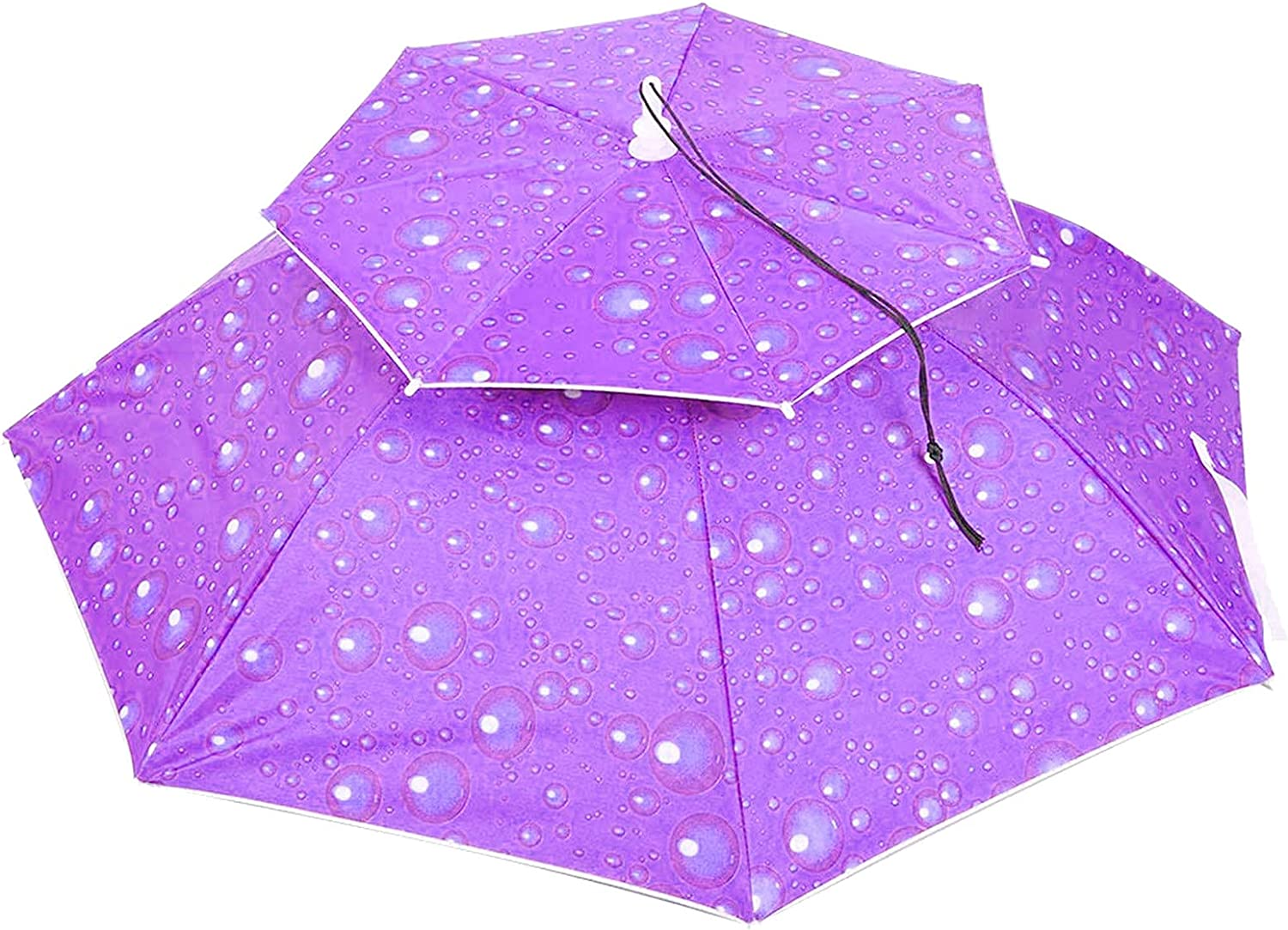 Fresno Mall Beach Umbrella Year-end gift Hat for Adults and Kids Hands Free UV Protection