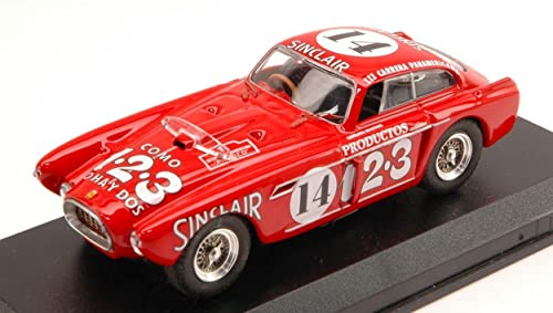Art-Model AM0191 Ferrari 340 Mexico N.14 Carrera MESSICANA 1952 1 43 DIE CAST kompatibel mit
