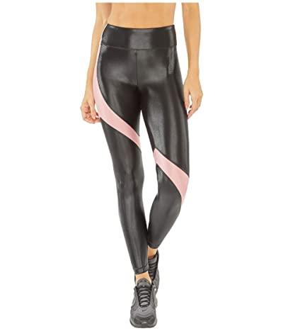 Koral Venus Infinity High-Rise Leggings (Black/Rosa) Women