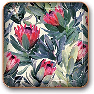 Studio Oh! Small Metal Catchall Tray Available in 12 Different Designs, Proteas