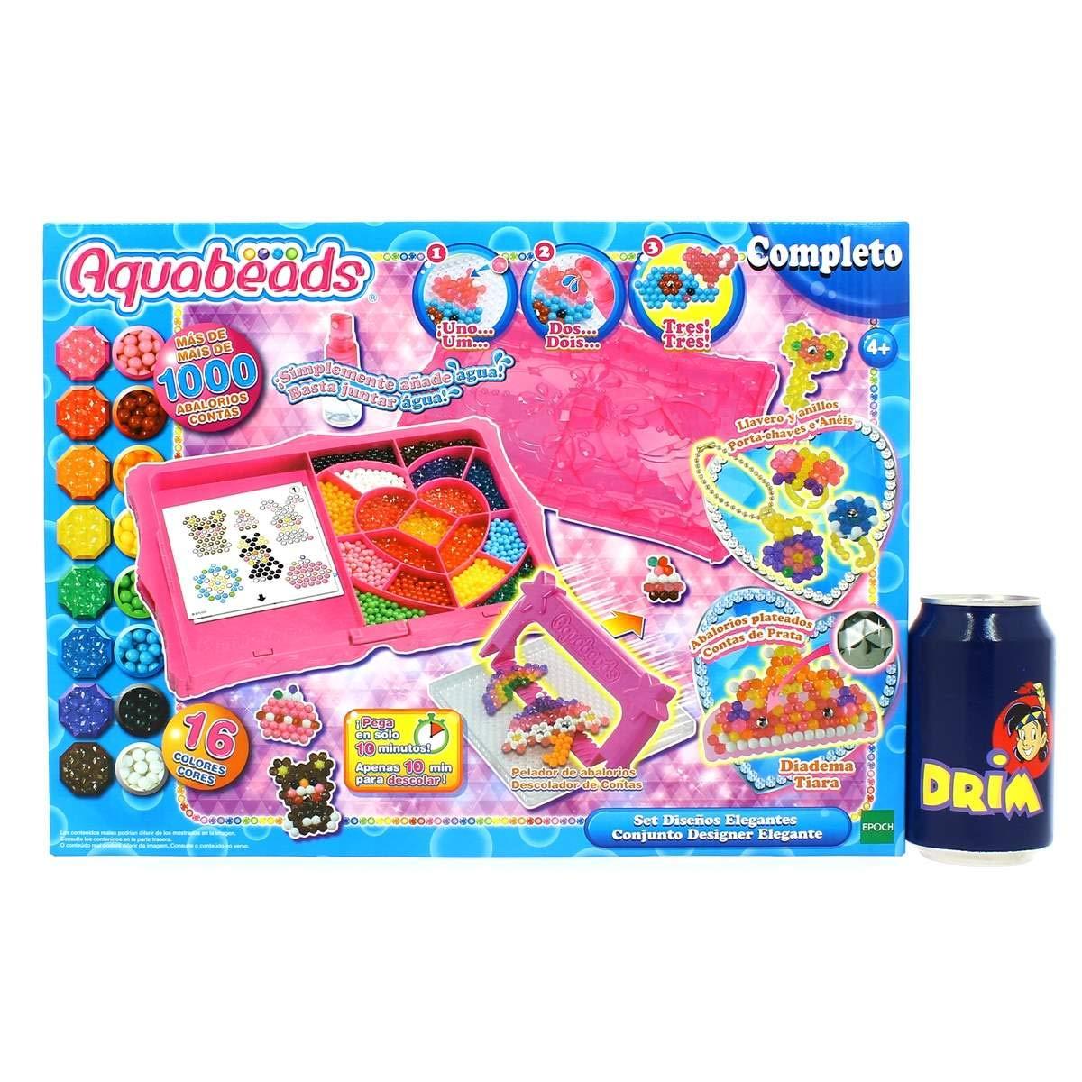 Aquabeads- Abalorios y accesorios. Actividad Creativa, Multicolor (Epoch para Imaginar) , color/modelo surtido: Amazon.es: Juguetes y juegos