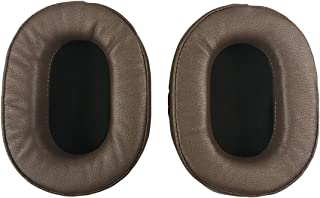 Ear Pads Earpads Cushion for Audio-Technica ATH-MSR7 ATH-MSR7BK ATH-M50x ATH-M40X ATH-M30 ATH-M50 ATH-M50s Headphone (Brown)