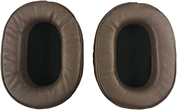 Replacement Ear Pads Earpads Cushion for Audio-Technica ATH-MSR7 ATH-MSR7BK ATH-M50x ATH-M40X ATH-M30 ATH-M50 ATH-M50s Headphone (Brown)