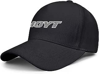 Women Men Baseball Cap Cute Messy Team-Hoyt-Archery-Plaid-Printing- Adjustable Truck Cap Sandwich Brim Hat