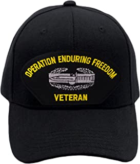 Patchtown Combat Action Badge - Operation Enduring Freedom Veteran Hat/Ballcap Adjustable One Size Fits Most