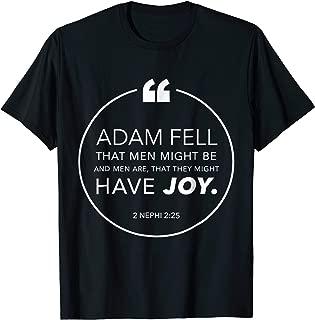 2 Nephi 2:25 Shirt - Book of Mormon Verses